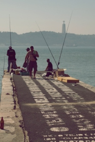 fishermen and friends