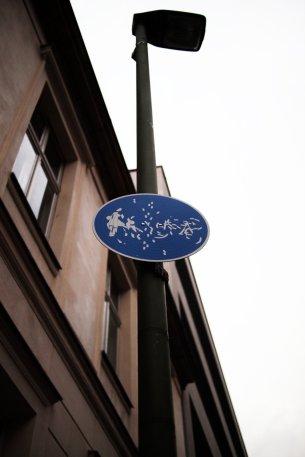 abstract bike lane