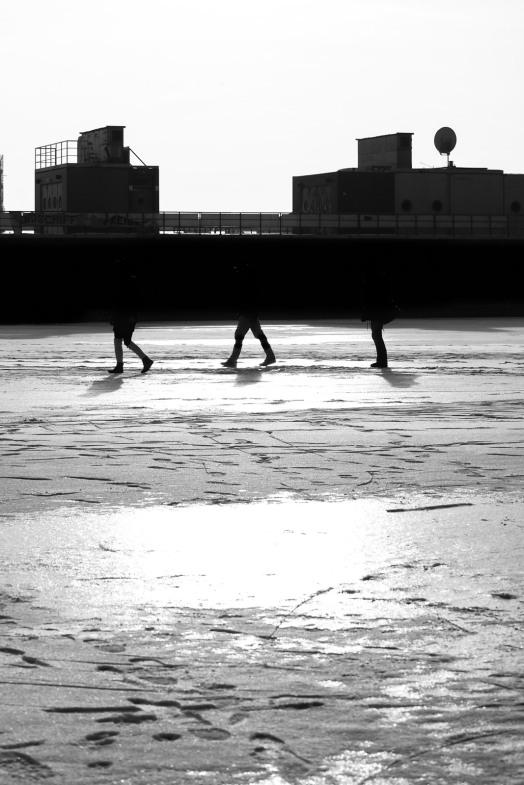 skating away