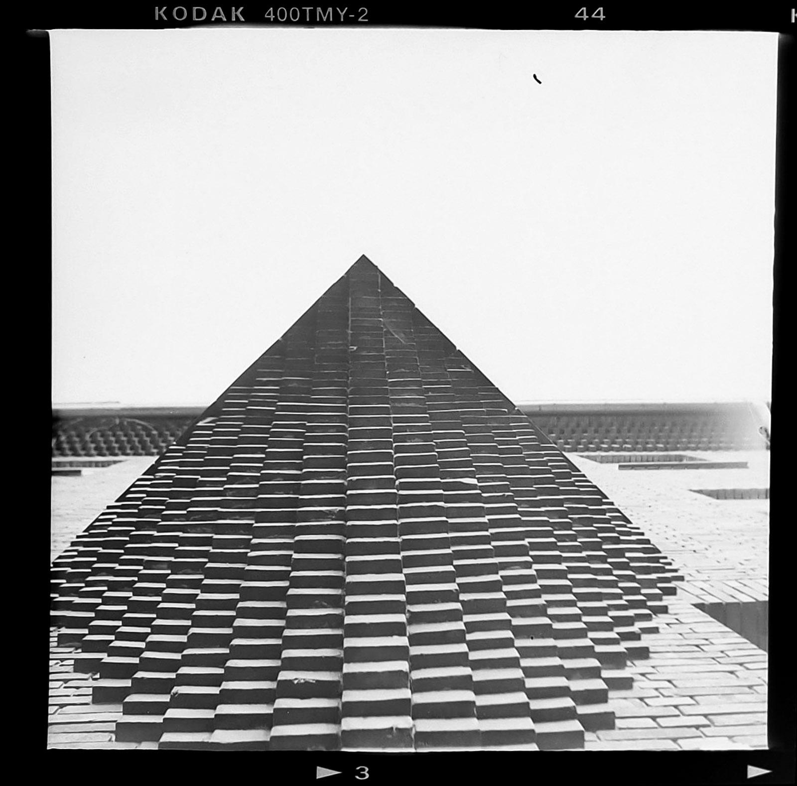 pyramide von unten