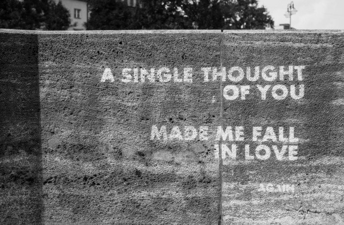 a single thought