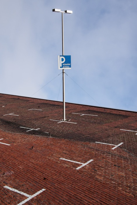 parking lot in the sky