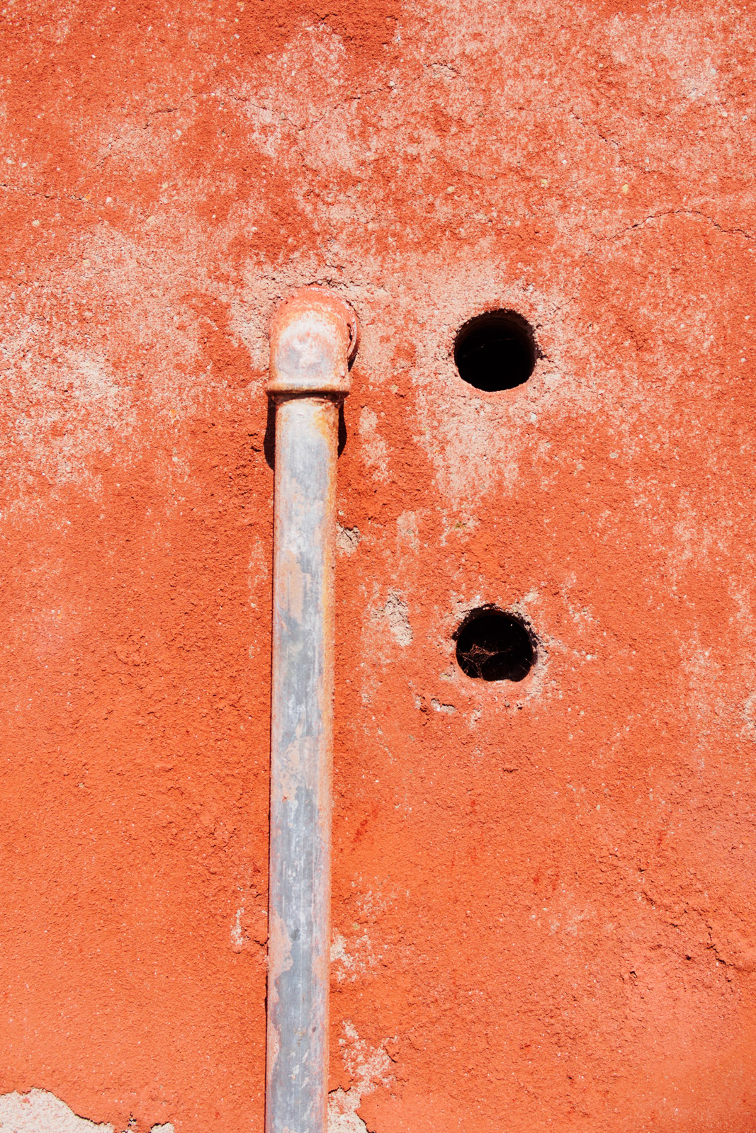 pipe holes