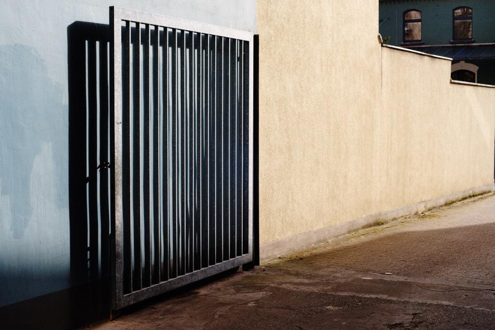 gate wide open