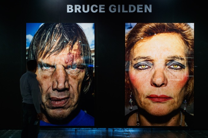 gigantic bruce gilden pictures