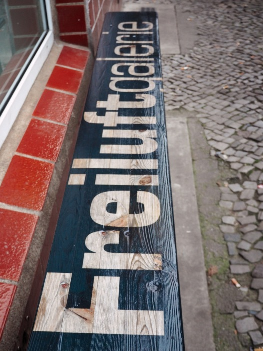 freiluftgalerie - the bench
